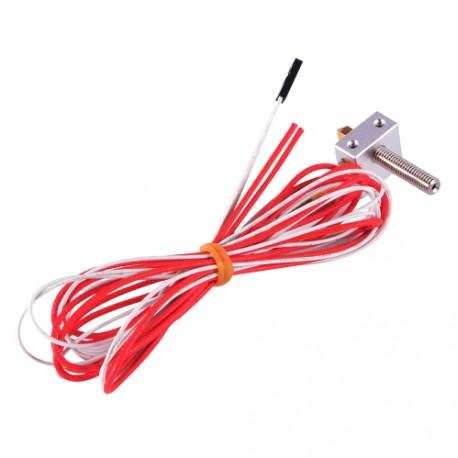MK8 HotEnd con calefactor y termistor