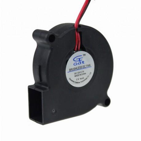Ventilador centrífugo 12 V 50mm 5015 50x50x15mm