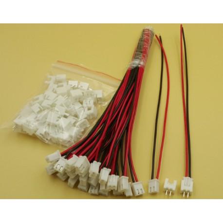 Conector XH2.54 cable 15 cm 24AWG con zócalo