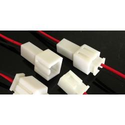 Juego conectores 2 pin
